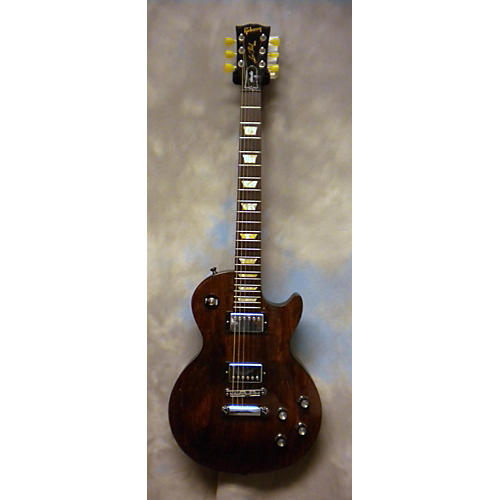 Gibson 1950S Tribute Les Paul Studio Worn Brown Solid Body Electric Guitar-thumbnail