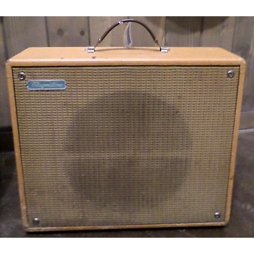 MAGNATONE 1950s Troubadour 113 Tube Guitar Combo Amp Brown 0