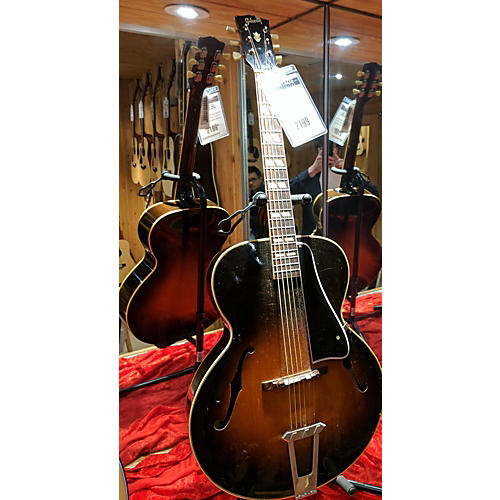 Gibson 1951 Gibson L-4 Sunburst OHSC Acoustic Guitar-thumbnail