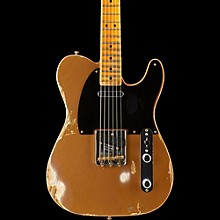 1951 Heavy Relic Telecaster Maple Fingerboard Electric Guitar Faded Copper