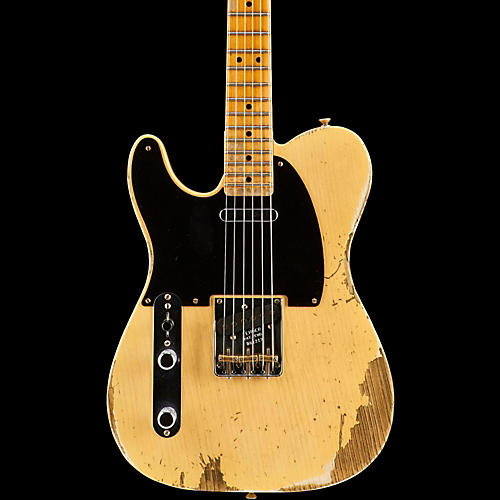 Fender Custom Shop 1951 Heavy Relic Telecaster Maple Fingerboard Left-Handed Electric Guitar