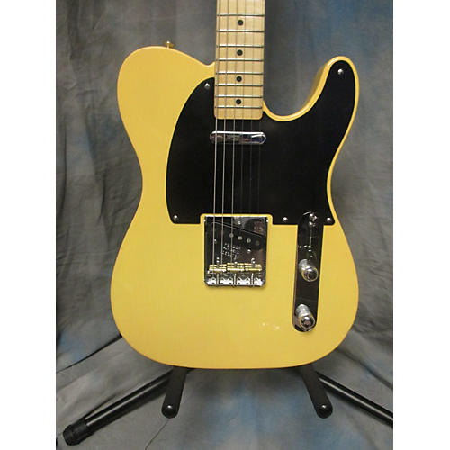 Fender 1952 American Vintage Telecaster Solid Body Electric Guitar Butterscotch Blonde