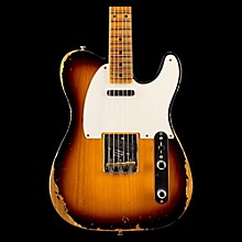 Fender Custom Shop 1952 Heavy Relic Telecaster Electric Guitar 2-Color Sunburst Maple