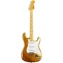 1954 Heavy Relic Stratocaster Electric Guitar Frost Gold Metallic
