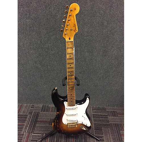 Fender 1954 Limited Edition Heavy Relic Stratocaster Solid Body Electric Guitar-thumbnail
