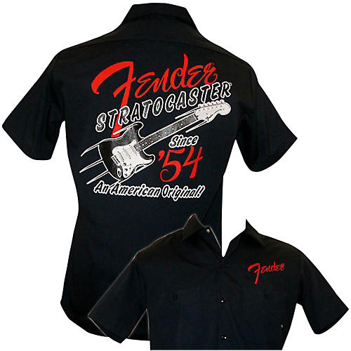 Fender 1954 Strat Work Shirt Navy Small-thumbnail