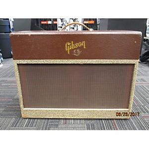 Vintage Gibson 1955 Ga55v Tube Guitar Combo Amp