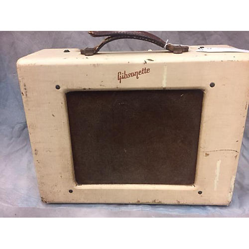 vintage gibson 1955 gibsonette tube guitar combo amp guitar center. Black Bedroom Furniture Sets. Home Design Ideas
