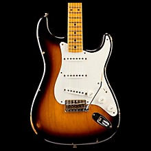 Fender Custom Shop 1955 Limited Edition Relic Stratocaster Electric Guitar 2-Color Sunburst Maple