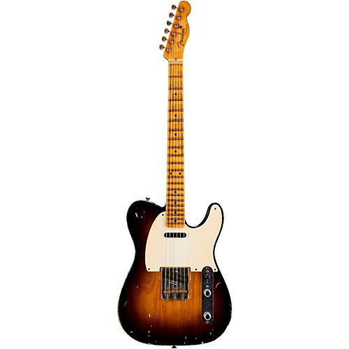 Fender Custom Shop 1955 Telecaster Relic Ash Masterbuilt by John Cruz 2-Color Sunburst