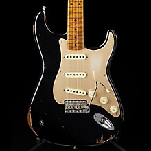 Fender Custom Shop 1956 Relic Roasted Stratocaster  - Custom Built - Namm Limited Edition Aged Black