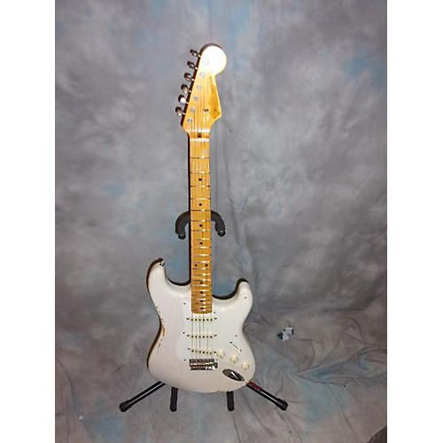 Fender 1957 Heavy Relic Stratocaster Solid Body Electric Guitar Vintage White