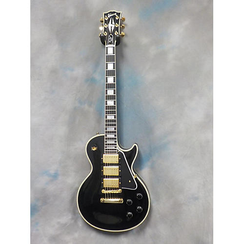Gibson 1957 Les Paul Custom Black Beauty Reissue 3 Pickup Solid Body Electric Guitar