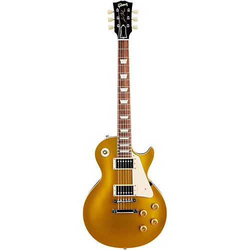 Gibson Custom 1957 Les Paul Standard Historic Reissue Goldtop Gloss Antique Gold
