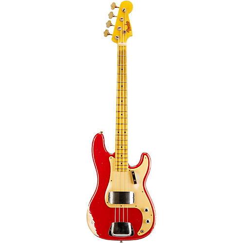 Fender Custom Shop 1957 Precision Bass Heavy Relic Electric Bass Guitar-thumbnail