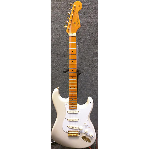 Fender 1957 Reissue Stratocaster Solid Body Electric Guitar Vintage White