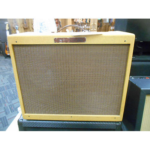 Fender 1957 Reissue Twin 40W 2x12 Tweed Tube Guitar Combo Amp-thumbnail