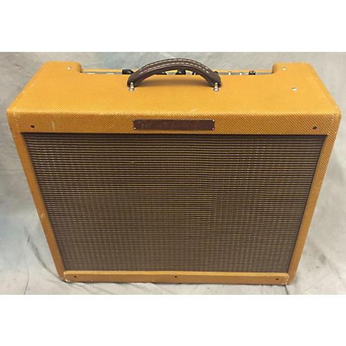 Fender 1957 Reissue Twin 40W 2x12 Tweed Tube Guitar Combo Amp-thumbnail