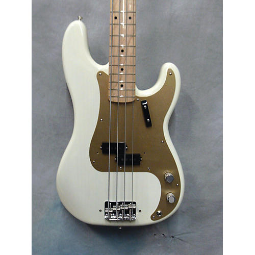 Fender 1958 American Vintage Precision Bass Electric Bass Guitar-thumbnail