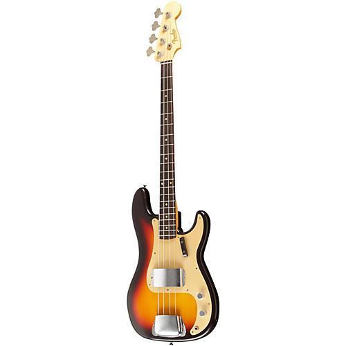 Fender Custom Shop 1959 P Bass Relic Guitar Chocolate 3-Color Sunburst