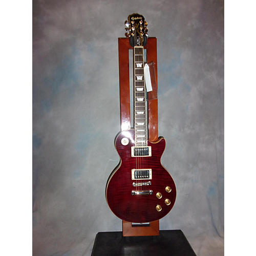 Epiphone 1960 LES PAUL TRIBUTE PLUS Solid Body Electric Guitar-thumbnail