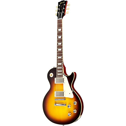 Gibson 1960 Les Paul Reissue Plaintop Electric Guitar Faded Tobacco