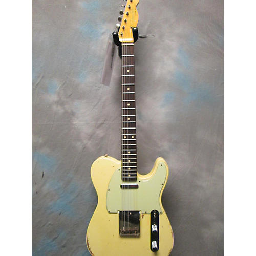 Fender 1960 Masterbuilt Dale Wilson Relic Custom Shop Telecaster Solid Body Electric Guitar-thumbnail
