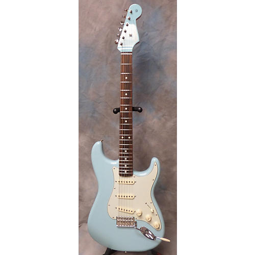 Fender 1960 Reissue Stratocaster Sonic Blue Solid Body Electric Guitar-thumbnail