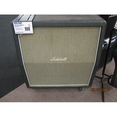 Marshall 1960AHW Hand Wired 120W 4x12 Slant Guitar Cabinet-thumbnail