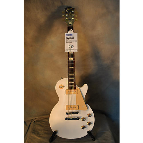Gibson 1960S Tribute Les Paul Studio Alpine White Solid Body Electric Guitar Alpine White