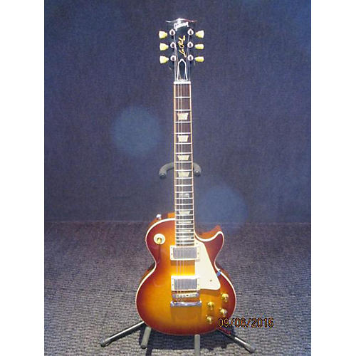 Gibson 1960S Tribute Les Paul Studio Left Handed Iced Tea Electric Guitar Iced Tea