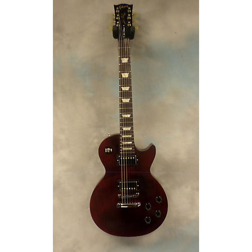 Gibson 1960S Tribute Les Paul Studio Wine Red Solid Body Electric Guitar-thumbnail