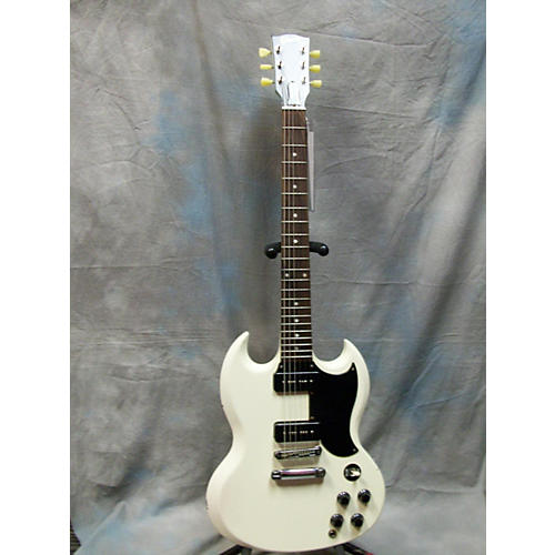 Gibson 1960S Tribute SG Antique White Solid Body Electric Guitar-thumbnail