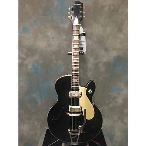 Silvertone 1960s 1446 Hollow Body Electric Guitar black