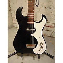 Silvertone 1960s 1448 Amp In Case Solid Body Electric Guitar