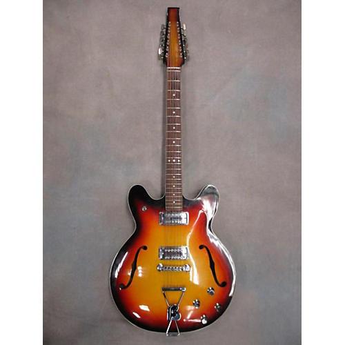 vintage baldwin 1960s 712t 12 string hollow body electric guitar 3 color sunburst guitar center. Black Bedroom Furniture Sets. Home Design Ideas
