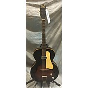 1960s Archtop Acoustic Electric Guitar