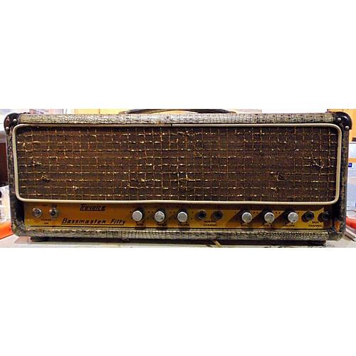 vintage selmer 1960s bassmaster fifty tube bass amp head guitar center. Black Bedroom Furniture Sets. Home Design Ideas