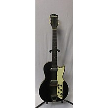Silvertone 1960s Jupiter Black Solid Body Electric Guitar