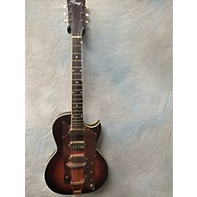 Kay 1960s LEAD 3 PICKUP SUNBURST Solid Body Electric Guitar