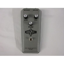 Rotosound 1960's Limited Edition Fuzz Pedal Reissue Silver Effect Pedal