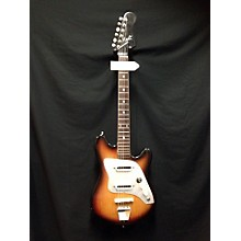 Kent 1960s Polaris II Sunburst Solid Body Electric Guitar