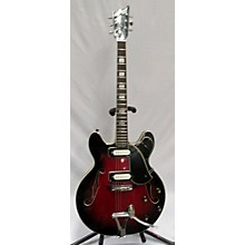 Univox 1960s Univox 2pu Hollowbody Hollow Body Electric Guitar