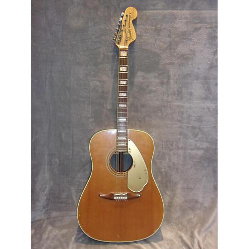 vintage fender 1960s wildwood acoustic guitar antique natural guitar center. Black Bedroom Furniture Sets. Home Design Ideas