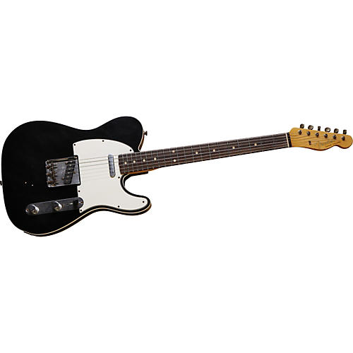 Fender Custom Shop 1961 Relic Telecaster Custom Electric Guitar Black Rosewood Fretboard