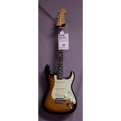 Fender 1962 Reissue Stratocaster MIJ Foto Flame Sunburst Solid Body Electric Guitar-thumbnail