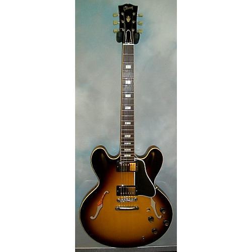 Gibson 1963 ES335 Block Reissue Hollow Body Electric Guitar Sunburst