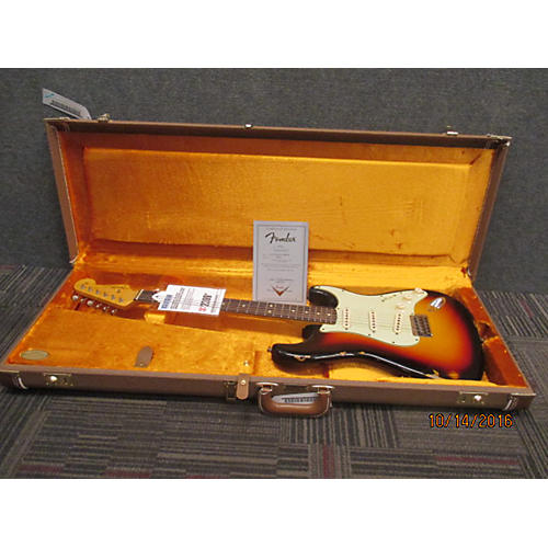 Fender 1963 Relic Stratocaster Custom Solid Body Electric Guitar-thumbnail