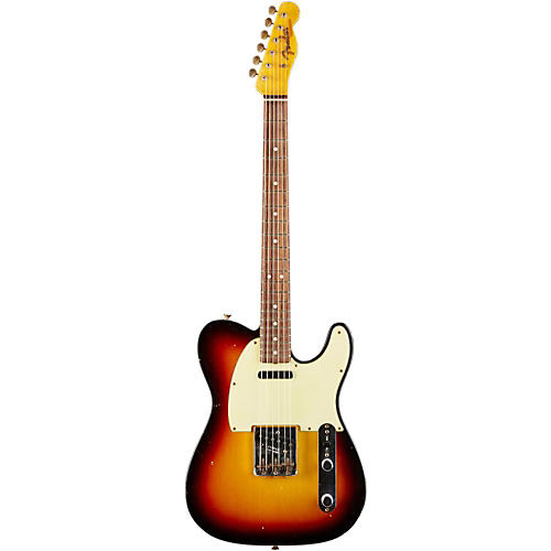 Fender Custom Shop 1963 Telecaster Relic Electric Guitar-thumbnail