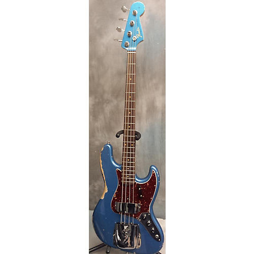 Fender 1964 American Vintage Jazz Bass Relic Lake Placid Blue Electric Bass Guitar